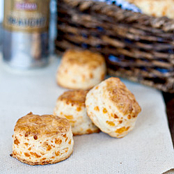 Cheddar Cheese Biscuits with Buttermilk