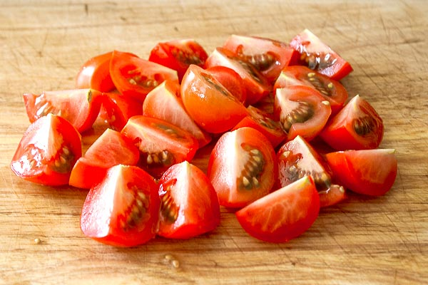 Sweet Campari tomatoes | BakingGlory.com