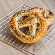 Pretzels and Bagels from Pizza Dough