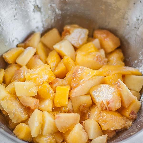 Mango and Peach mix