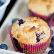 Blueberry Muffins with Cream Cheese
