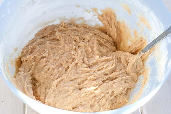 Basic banana bread batter