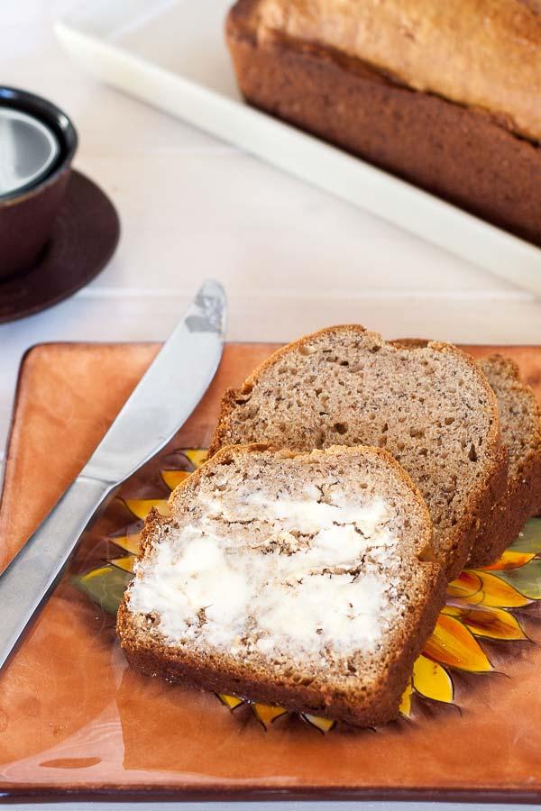Delicious and fast banana bread recipe