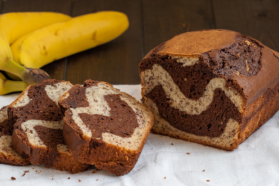 Chocolate Banana Bread | BakingGlory.com