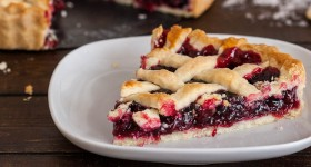 Cranberry and Blueberry Tart