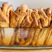 Raisin and Cinnamon Pull Apart Bread