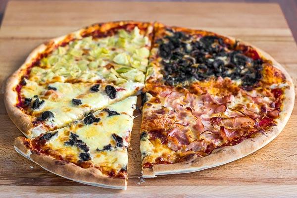 four seasons pizza pizza quattro stagioni. Black Bedroom Furniture Sets. Home Design Ideas