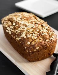 A healthy version of the classic banana bread