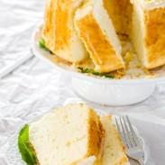 Easy lemon cake topped with a delicious lemon glaze.