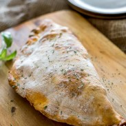 Ham and Cheese Breakfast Calzone